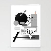 biggie Stationery Cards featuring Biggie by Mykola Dosenko