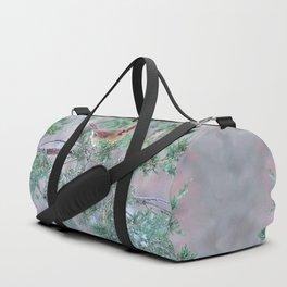 Pretty Female Cardinal Duffle Bag