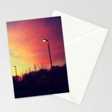 Sunrise series- Shade of light Stationery Cards
