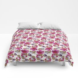 Eloise Abstract Painting Comforters