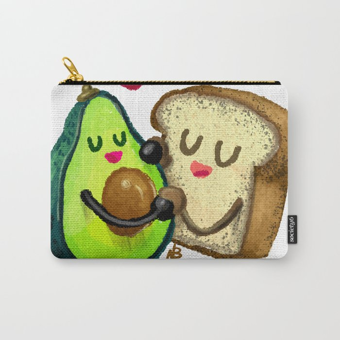 Avocado Toast Carry-All Pouch