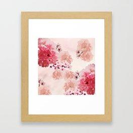 Floral Rage Framed Art Print