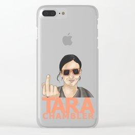Tara Chambler Clear iPhone Case