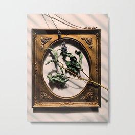 Dying leaves Metal Print