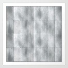 Steel Metal Tile Art Print