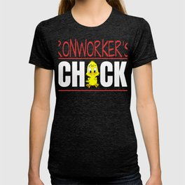 Ironworker's Chick Gift Wife Girlfriend product T-shirt