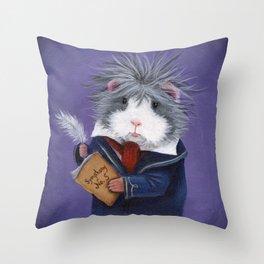Ludpig Van Beethoven Throw Pillow
