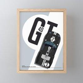 GT40 LM Winner 1966 Framed Mini Art Print