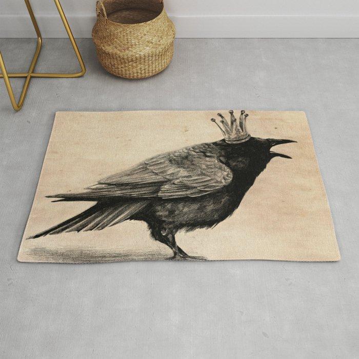 Raven Rug