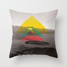 Sojourn series - Queenstown Throw Pillow