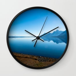 Jackson Lake Wall Clock