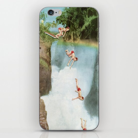 Diving Board iPhone & iPod Skin