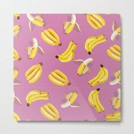 lilac bananas Metal Print