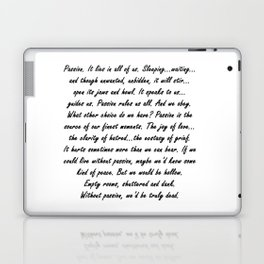 Buffy Passion Quote Laptop & iPad Skin