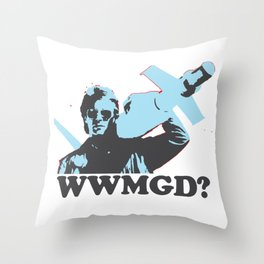 What would MacGyver Do? Throw Pillow