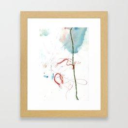 Thread Drawing no. 4 Framed Art Print