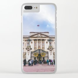 Buckingham Palace, London, England Clear iPhone Case
