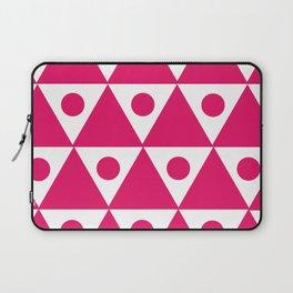 Pink Traingles Laptop Sleeve