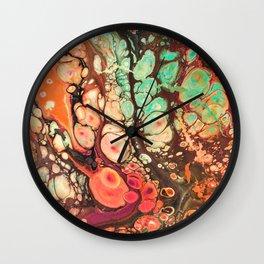 Warm Pastel Wonderland Wall Clock