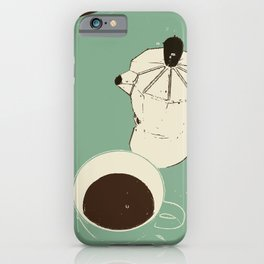 espresso coffee iPhone Case
