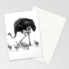 Ostrich Kindergarten Stationery Cards
