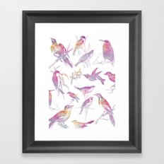 If you're a bird, I'm a bird. Framed Art Print
