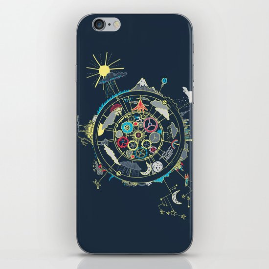 Running Like Clockworld iPhone & iPod Skin