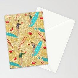 Ramen Surfer Stationery Cards