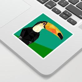Toucan Bird artwork Geometric Tropical birds Brazil Sticker