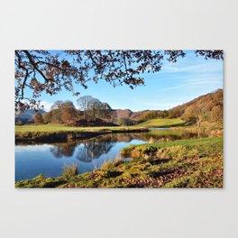River Brathay  Canvas Print