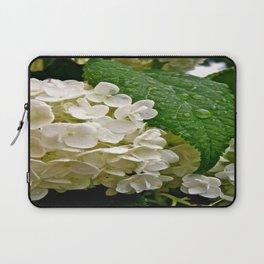 Wet Hydrangea Laptop Sleeve