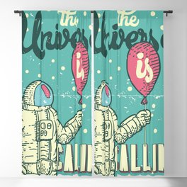 The Universe is calling - Baloon Blackout Curtain