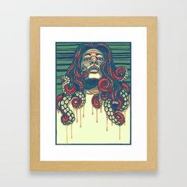 Octolocks Framed Art Print