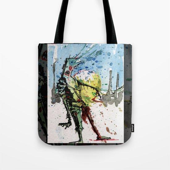 desert zombie Tote Bag