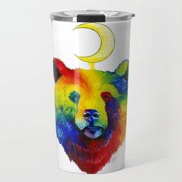 Rainbow Bear Spirit Travel Mug