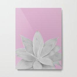 Pink Lavender Agave #1 #tropical #decor #art #society6 Metal Print
