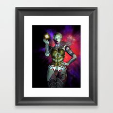 The Force of Light Framed Art Print