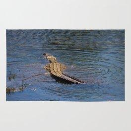 See Ya Later Alligator Rug