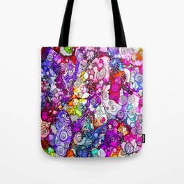 Heavenly Doodles  - Many Eyes Version 2 Tote Bag