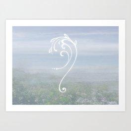 Sigil of Calm Art Print