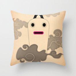 t e s t a t r a l e n u v o l e Throw Pillow
