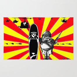 Charlie Don't Surf! Rug