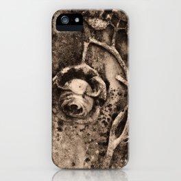 Rose of Death iPhone Case