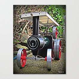 The Engine Canvas Print