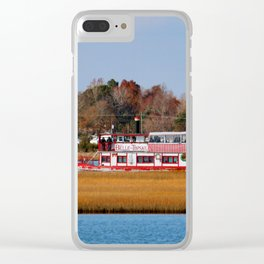 Floating Down The ICW Clear iPhone Case