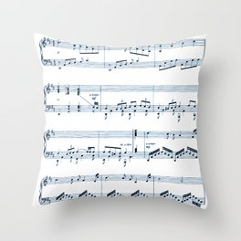 Notes Throw Pillow