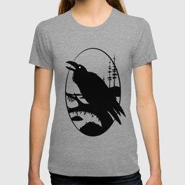 Raven Silhouette IV T-shirt