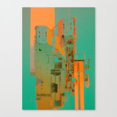 METAL GEAR (everyday 11.07.16) Canvas Print
