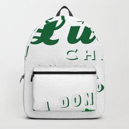Funny Teacher St Patricks Day Backpack