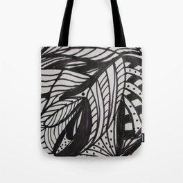 Fantasy Leaf Tote Bag